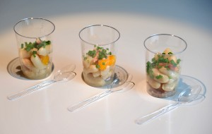 Idee recette - Verrines de mogettes